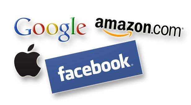 "The big ""GAFA"" technology companies"