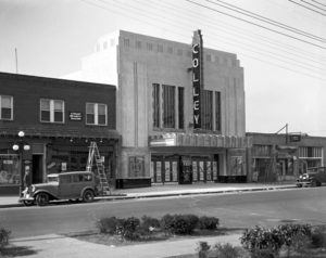 The Colley Theater (now the Naro) opens in 1936