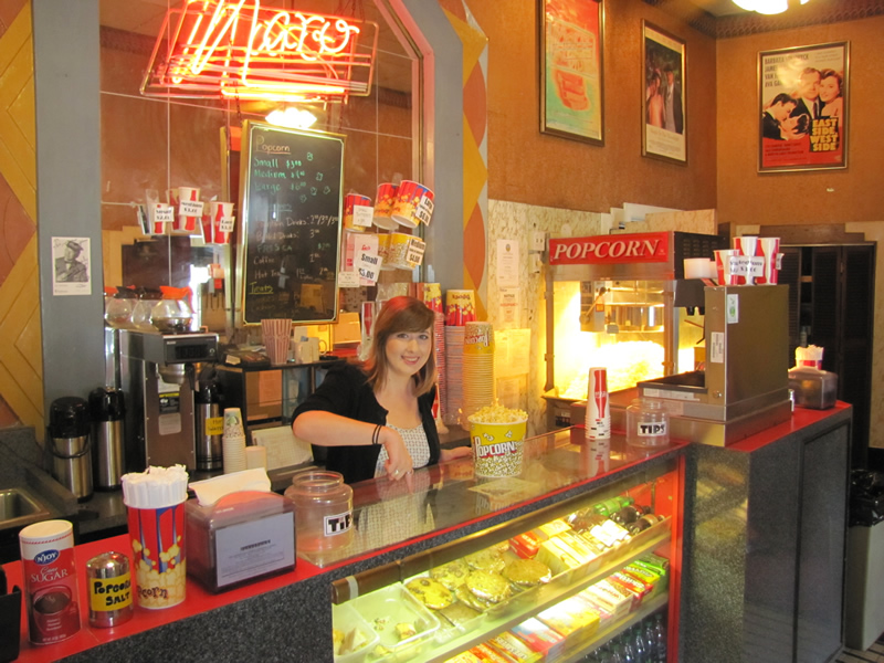 Naro concession stand - low prices, great popcorn