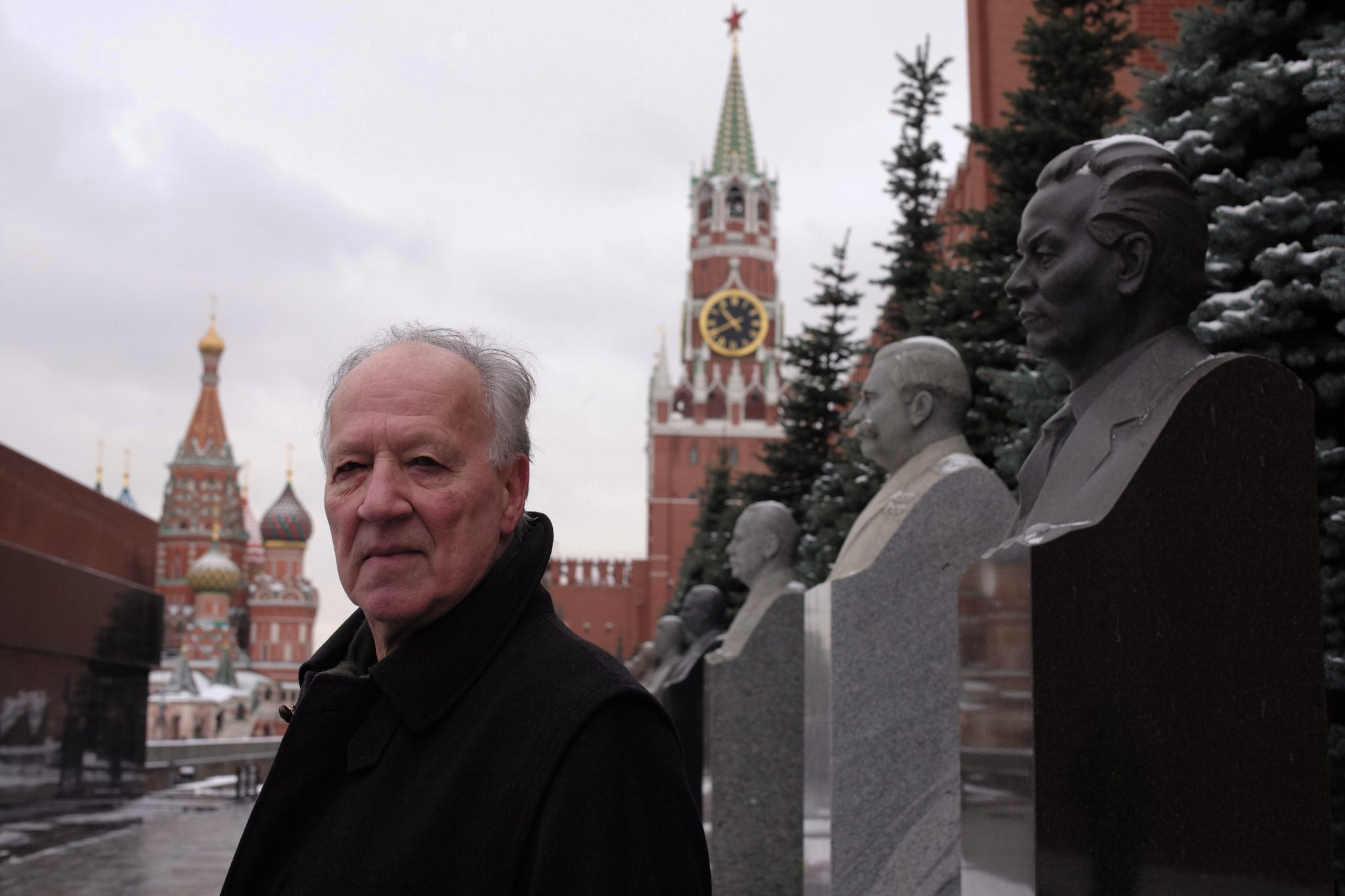 Werner Herzog in Moscow