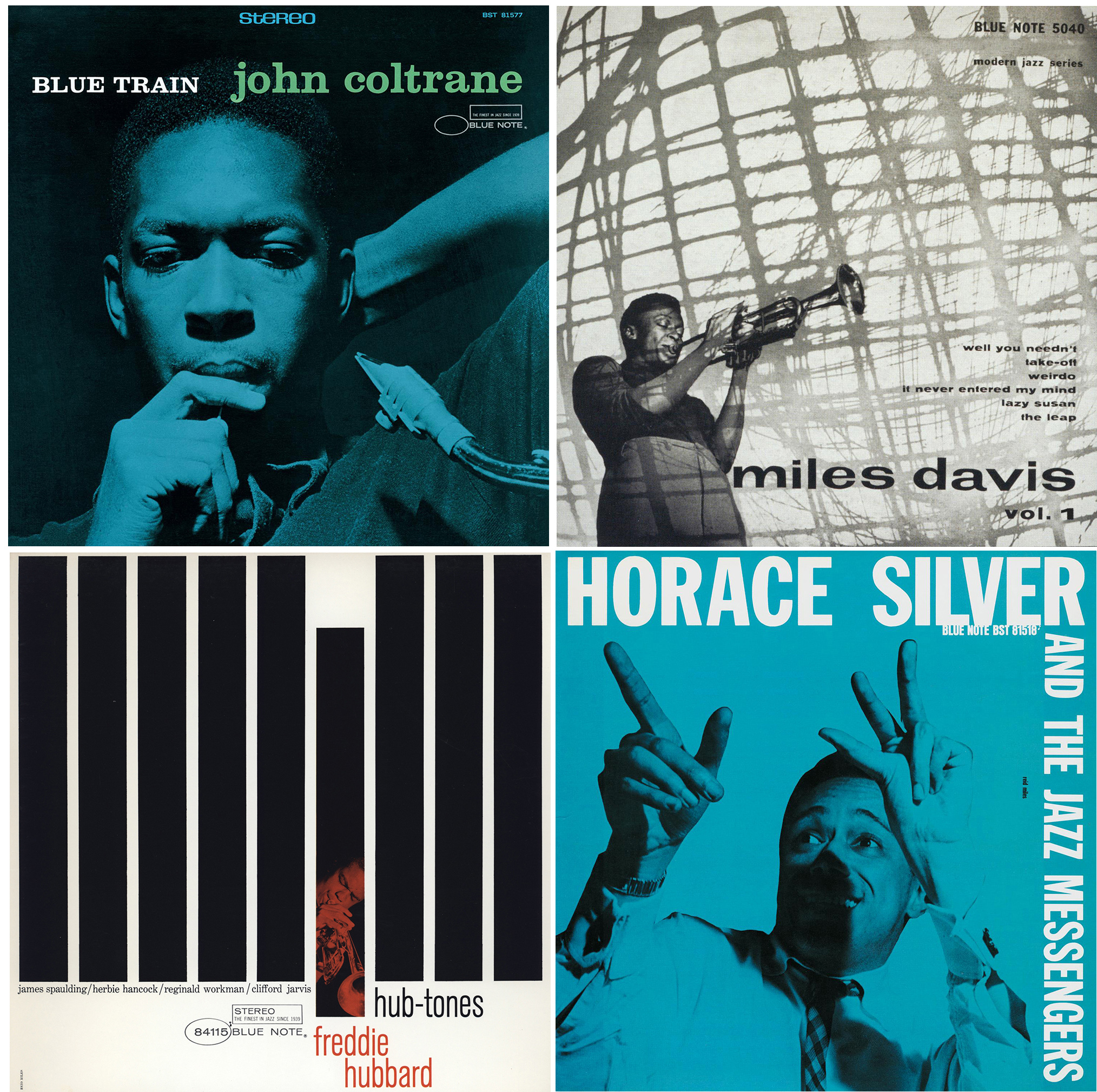 Blue Note Album Covers