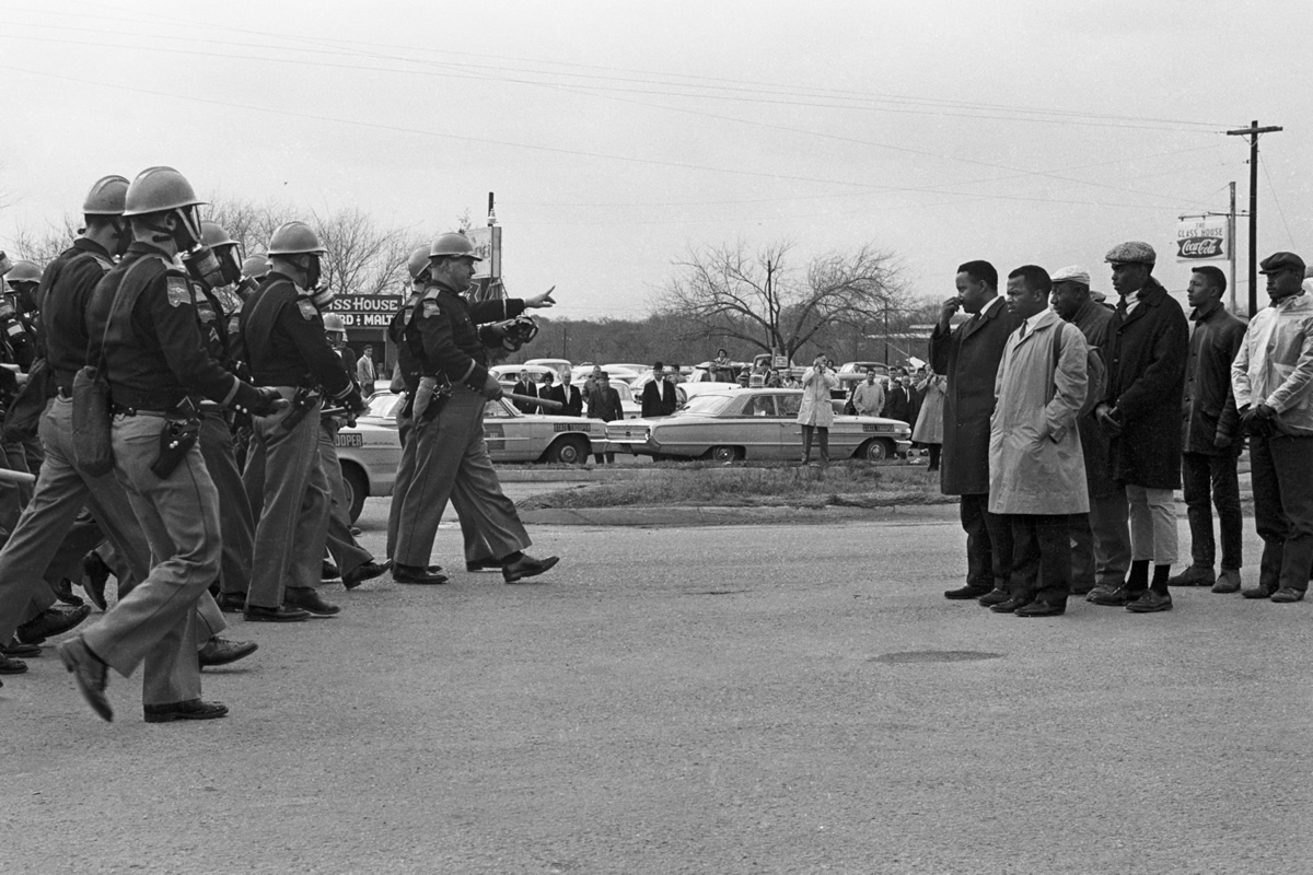 John Lewis in Selma march