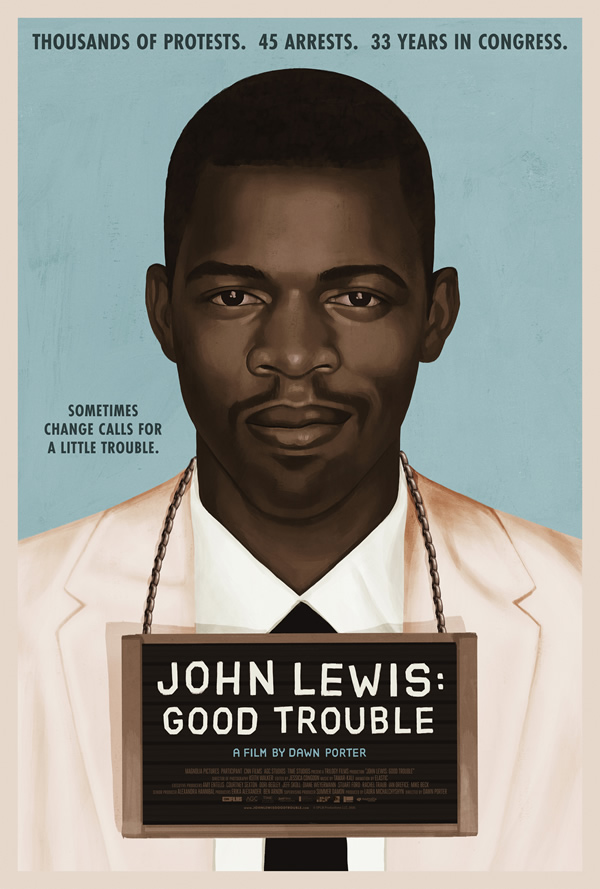 John Lewis: Good Trouble film poster